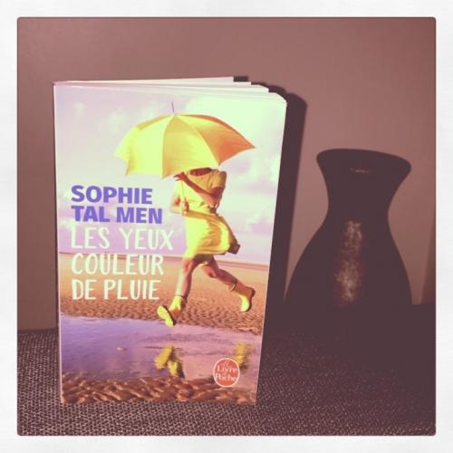 yeux, couleur, pluie, sophie, tal ,men, le livre de poche