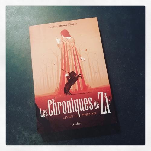 chroniques,zi,livre,phelan,jean-françois,chabas,nathan,fantasy