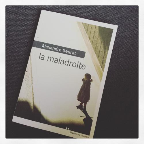 maladroite,alexandre,seurat,la brune au rouergue,matchs rentrée littéraire,price minister