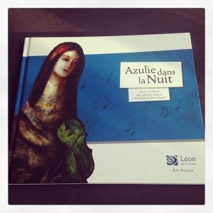 azulie,nuit,nancy,guilbert,marc,chagall,peinture,musique,léon art & stories