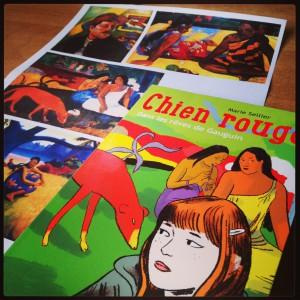 chien,rouge,dans,rêves,gauguin,paul,marie,sellier,nathan,peinture,artiste