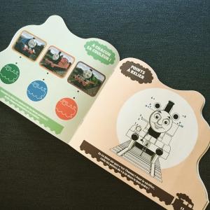 thomas, amis, route, hachette jeunesse, livre activité, jeux, locomotive