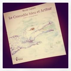 crocodile,bleu,arthur,trilogie,bleue,nicole,caplain