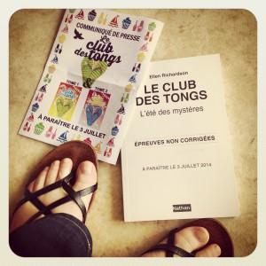 club,tongs,été,mystères,ellen,richardson,nathan,amitié