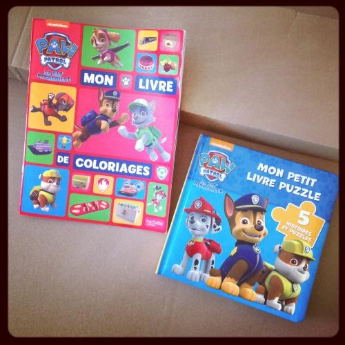 paw patrol, pat'patrouille, hachette jeunesse, puzzle, coloriage
