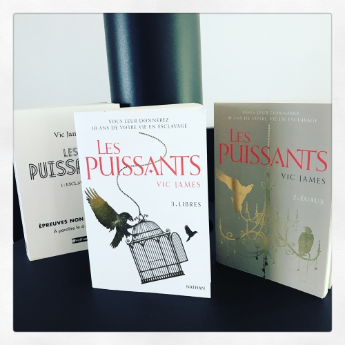 puissants, tome 3, libres, vic, james, nathan