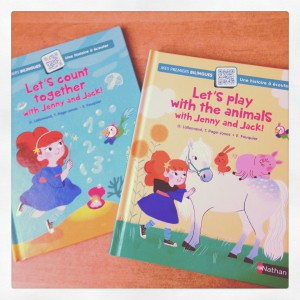 let's, play, with, animals, jenny, jack, count, together, lallemand, pages-jones, fouquier, nathan, français-anglais