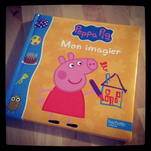 peppa, pig, imagier, hachette jeunesse