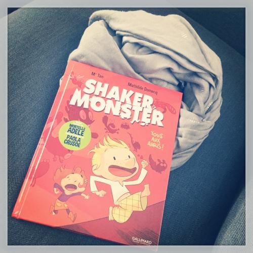 shaker, monster, tous, abris, tous, mathilde, domecq, gallimard bande dessinée, masse, critique, babelio